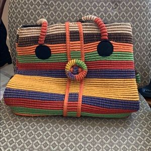 Ladies fabric handbag